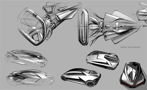 design concept video lamborghini perdigon concept design sketches 02