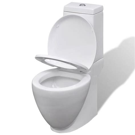 bidet set vidaxl co uk white ceramic toilet bidet set