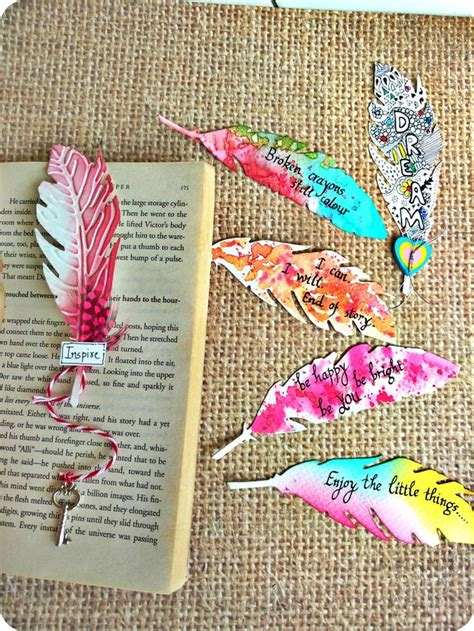Handmade Bookmark Ideas - best 25 bookmark ideas ideas on