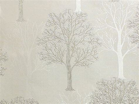 silver trees wallpaper s silver tree design with glitter