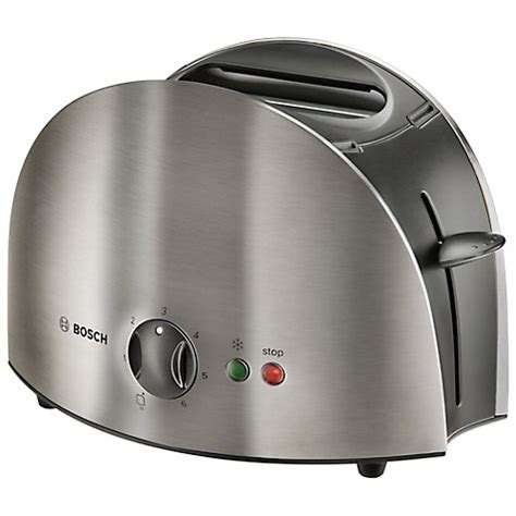 Rate 2 Slice Toasters Buy Bosch Tat6901gb Town 2 Slice Toaster Stainless Steel