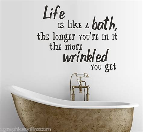 Bathroom Shower Quotes The 25 Best Bathroom Quotes Ideas On