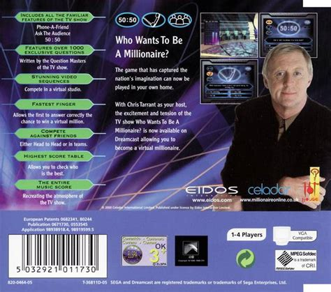 emuparadise uk who wants to be a millionaire pal uk iso