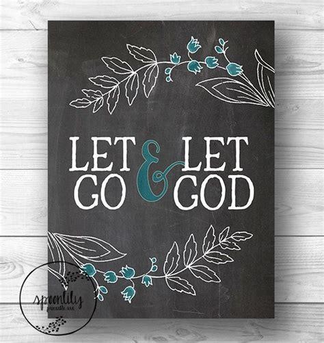 free printable wall art bible verses bible verse art print printable let go let god wall art
