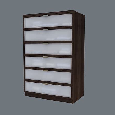 Hopen Dresser by Hopen Chest Drawers 3ds