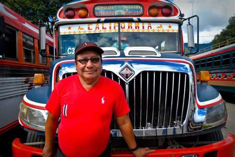 testo e la buss guatemala sulla cresta di un chicken viaggi