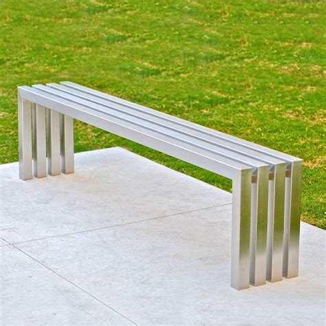linear bench linear bench stainless steel 58 sarabi studio touch of modern
