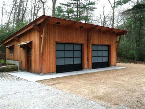 slanted roof garage garage shop slanted roof garage plans