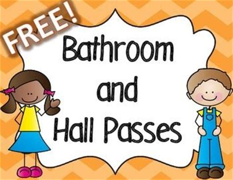 boys bathroom pass 1000 images about 1st grade t on pinterest classroom