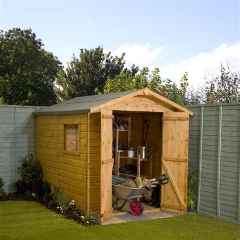 Garden Shed Review by Groundsman Apex 8x6 Garden Shed Review Compare Prices