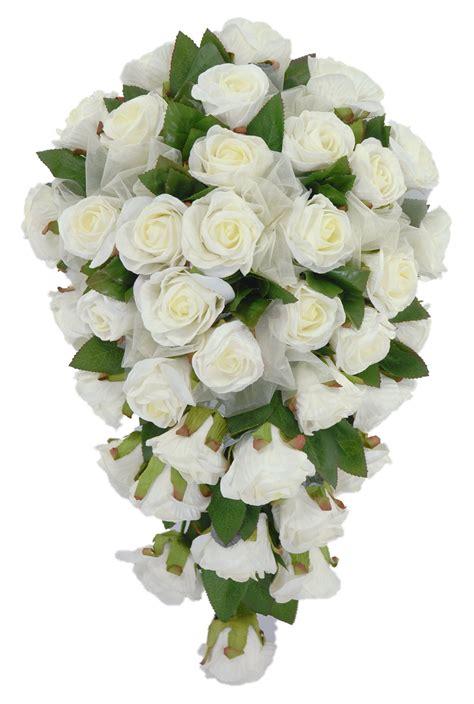 Turquoise And White Wedding Decorations Classic Ivory Foam Rose Bridal Wedding Shower Bouquet