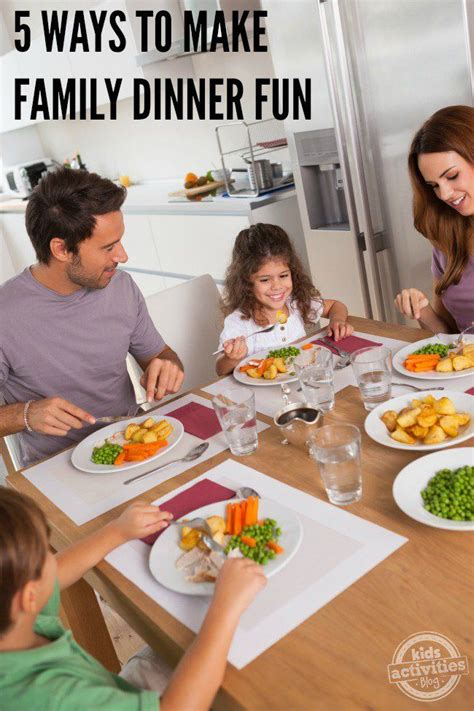 fun dinner games 5 ways to make family dinner fun dinners parents and