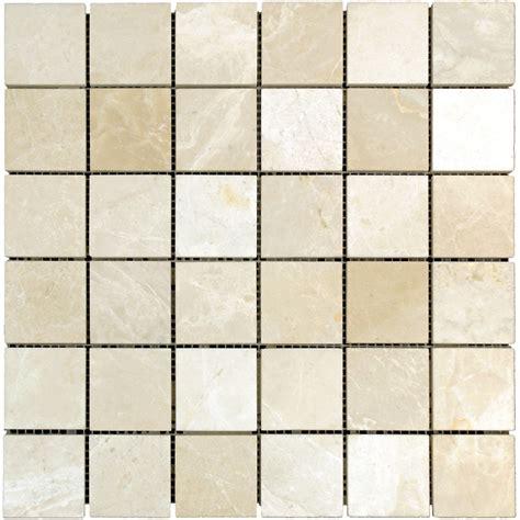 marble mosaic tile botticino beige polished marble mosaic tiles 2x2 stone