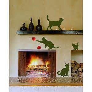 Homeshop18 Home Decor Cats Sticker Sheets Home Decor Line Wall Decals Homeshop18