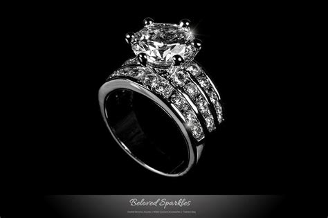 Ruby 4 75 Ct solitaire engagement 3 5 carat cz ring 7 5 carat