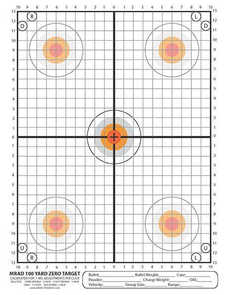 printable rifle scope targets 1587 best bersagli images on pinterest free printable