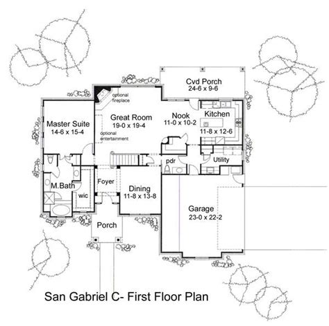 san gabriel mission floor plan the san gabriel 5813 4 bedrooms and 2 baths the house