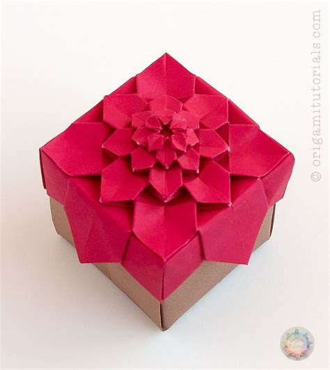 Origami Gift Box - best 25 origami boxes ideas on origami box