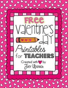 valentines cards for teachers s day printables for teachers freebie 4