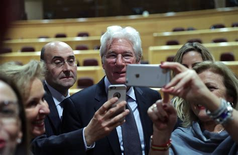 Gere Causes Problem For by Richard Gere Criticises Spain S Repression