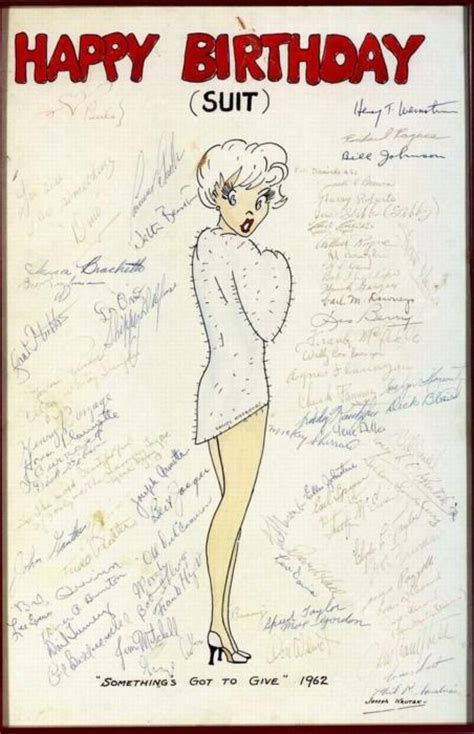 Marilyn Birthday Card 17 Best Images About Marilyn Monroe On Pinterest Jfk
