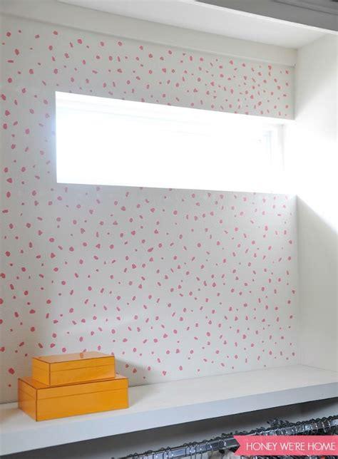 wallpaper closet honey we re home painted closet walls diy thibaut