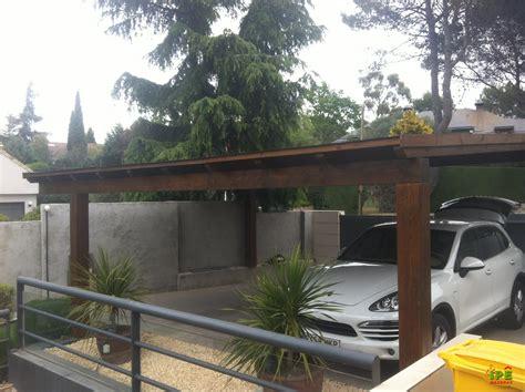 porches para coches 3 nuevos proyectos de porches de madera en ipe ipe maderas