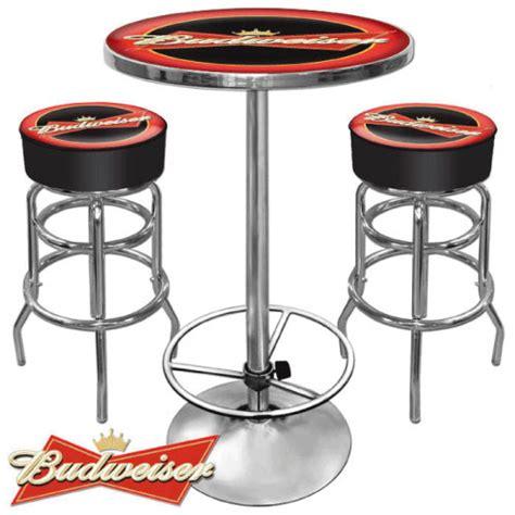 Budweiser Bar Stools budweiser bar stool the pub shoppe