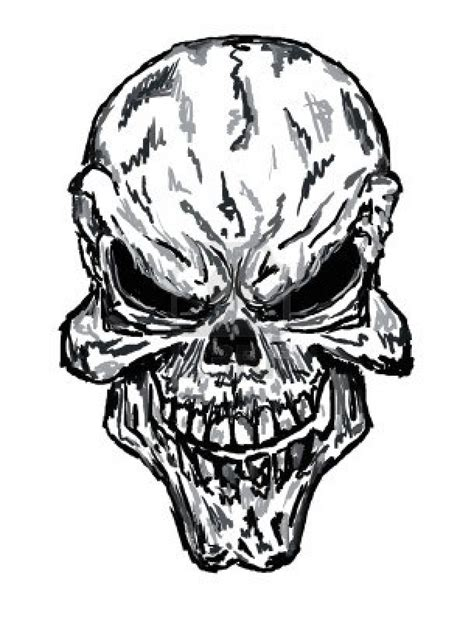 evil skull tattoo designs free coloring pages of evil skulls