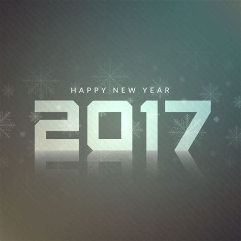 modern new year modern design background of new year 2017 vector free