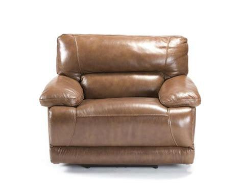 overstuffed recliner an electric overstuffed leather recliner chair