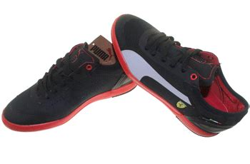 Speed Cat 2 9 Mid Putih Merah lintang s shoes