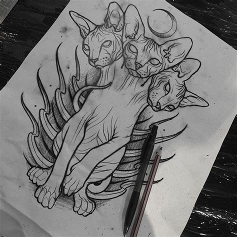 sphinx tattoo designs 138 best neo traditional drawings images on