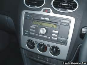 Ford Focus Radio Ford Focus Mk2 2005 2008 Stereo Removal St