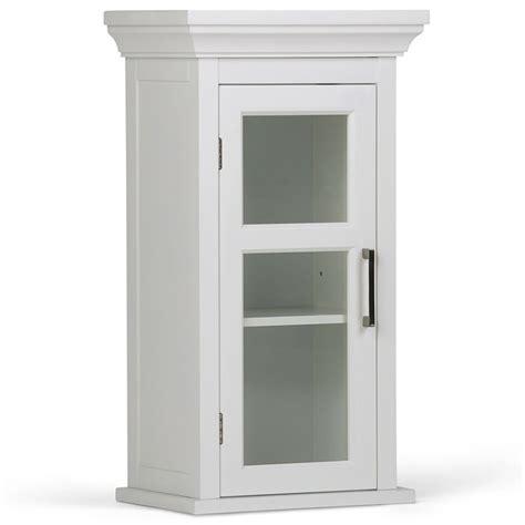 single door wall medicine cabinet  white axcbc  wh