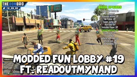 mod gta 5 lobby gta 5 online modded fun lobby 19 ft readoutmynand