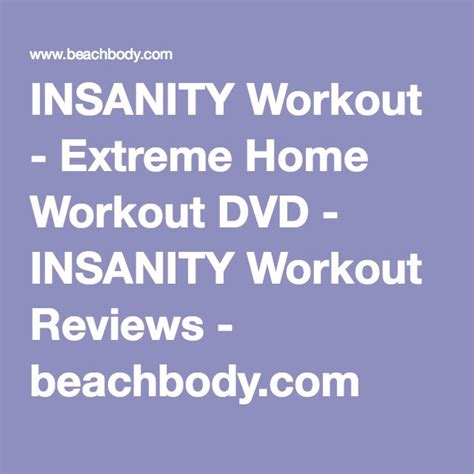 25 best ideas about insanity workout dvd on