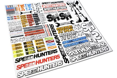 Monster Aufkleber Rc by Scale Size Maximum Style Speedhunters Rc Car Stickers