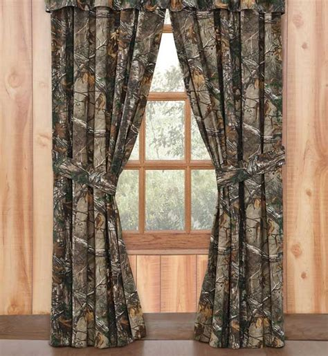 realtree camo curtains realtree max 4 camouflage curtains window treatment