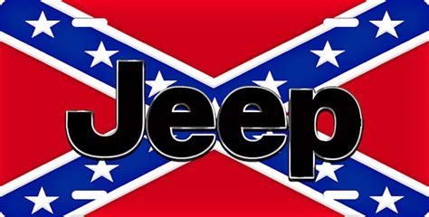 jeep rebel flag jeep rebel flag license plate license plate license tag