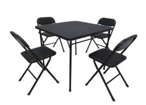 walmart card table with chairs walmart recalls card table and chair sets due to finger