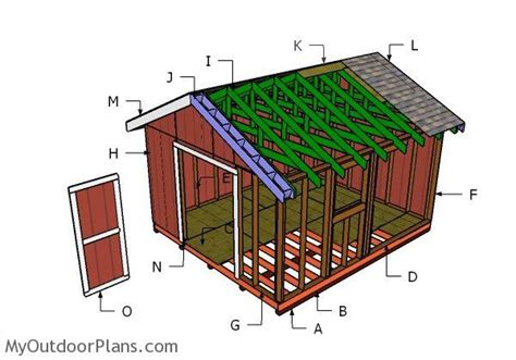 hip roof house plans to build woodworking projects plans 14x16 gable shed roof plans myoutdoorplans free