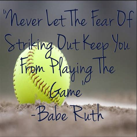 inspirational baseball quotes unique softball sayings and quotes