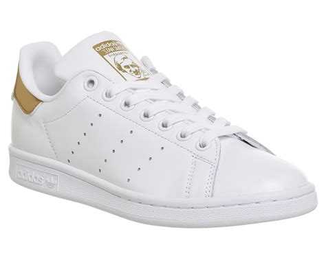 Casual Adidas Smith Brown mens adidas stan smith white bronze gold trainers shoes ebay