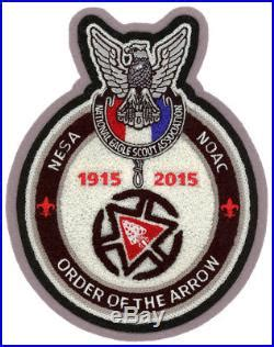 Nesa Set by Nesa National Committee 2015 Noac Oa Chenille Patch Badge