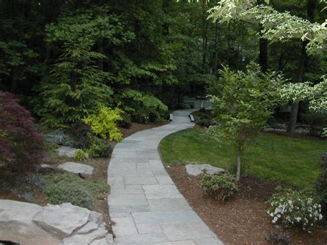 Design Ideas For Flagstone Walkways Flagstone Walkway Design Ideas Homestartx
