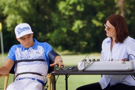 lie detector commercial actress zurich rickie fowler keegan bradley take lie detector test for