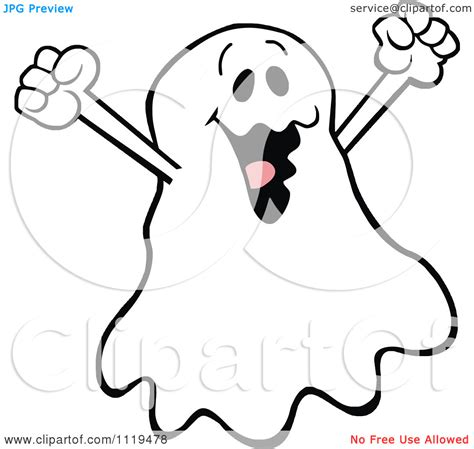 happy ghost coloring pages cartoon of a halloween ghost clipart panda free