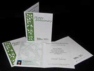 direct mail anniversary card using variable data 171 ortnergraphics design of the times