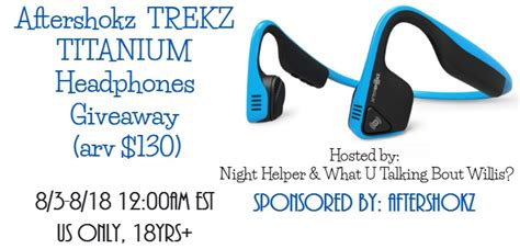 Headphones Giveaway - aftershokz trekz titanium headphones giveaway arv 130 night helper